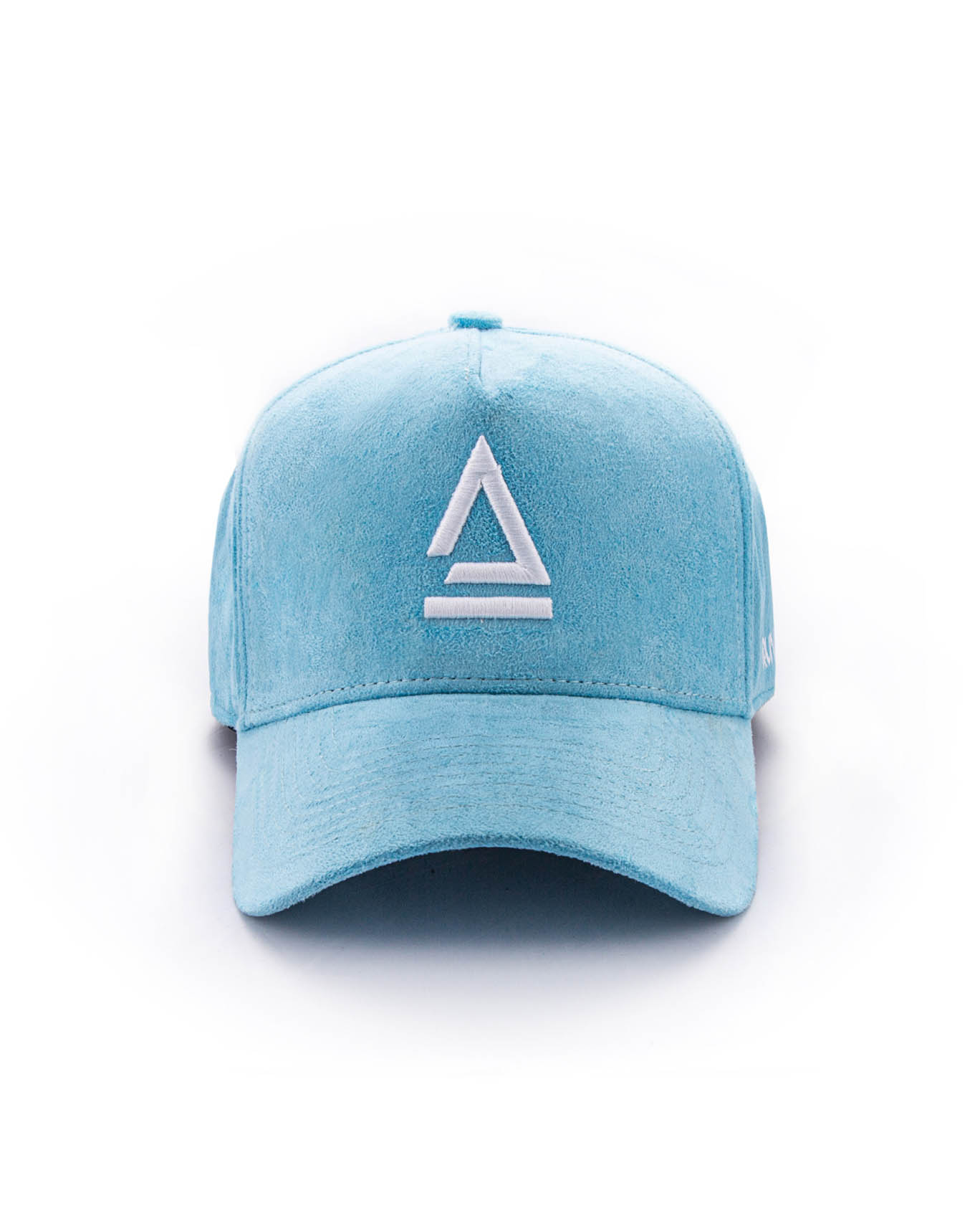 BABY BLUE SUEDE - A FRAME HAT